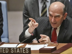 US Special Envoy to Venezuela Elliott Abrams has threatened even harsher sanctions against the South American country as Washington's efforts to oust the Maduro government continue to falter. (AP)
